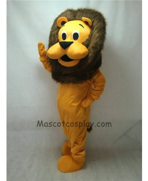 Cute New King Lion Mascot Costume
