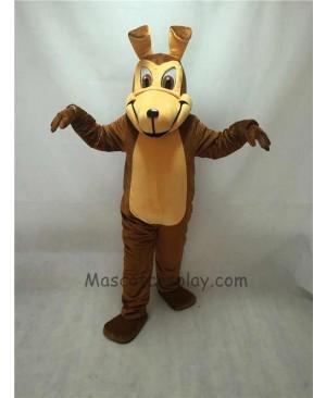 Fierce New Coyote Wolf Mascot Costume