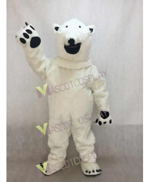 Fierce Polar Bear Adult Mascot Costume