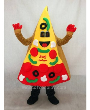 High Quality Adult A Slice of Pizza Mascot Costume