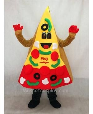 High Quality Adult A Slice of Pizza Mascot Costume