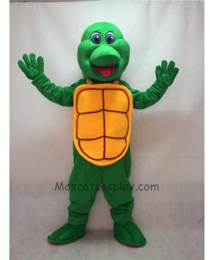 Cute New Green Turtle Mascot Costume