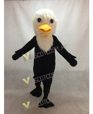 Yellow Beak Bald Eagle Mascot Costume