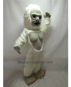 Fierce New Yeti Mascot Costume