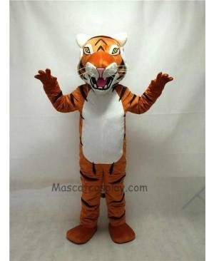 Fierce New Bengal Tiger Mascot Costume