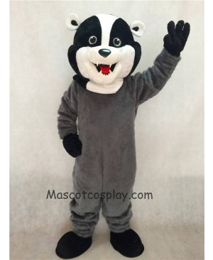 High Quality Realistic New Badger Mascot Costume