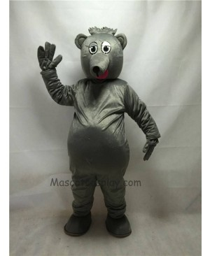 Cute Gray Pete O. Possum Mascot Costume