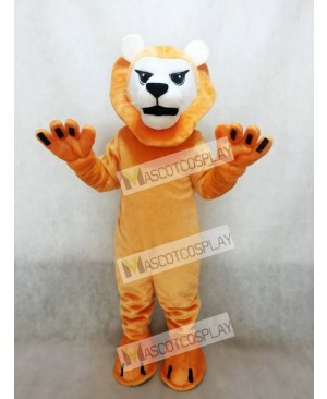 Fierce Mean Lion Mascot Costume