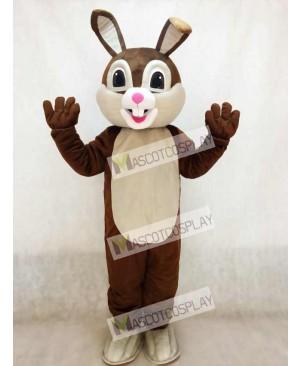 New Chocolate Easter Bunny Rabbit Mascot Costume