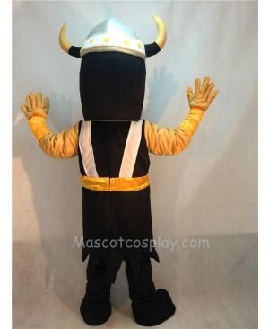 Fierce Victor Viking Mascot Costume with Brown Beard