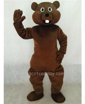 Hot Sale Adorable Realistic New Brown Nutty Squirrel Mascot Costume