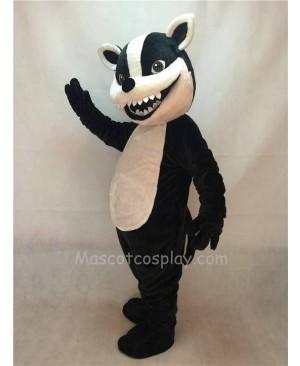 Fierce New Badger Mascot Costume