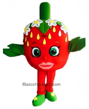 High Quality Strawberry Kiss Classic Halloween Mascot Costume