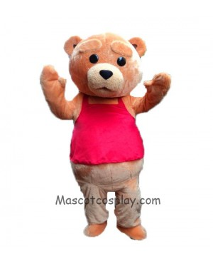 High Quality New Ted Costume Teddy Bear Mascot Costume