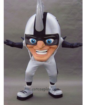 Strange New Oakland Raiders Rusher Mascot Costume