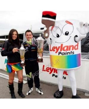 High Quality Adult Leyland Paint Pot Mascot Costume