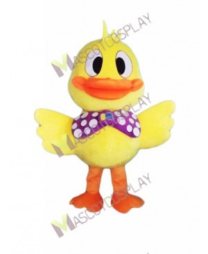 High Quality Adult Little Yellow Duck Mascot Costume