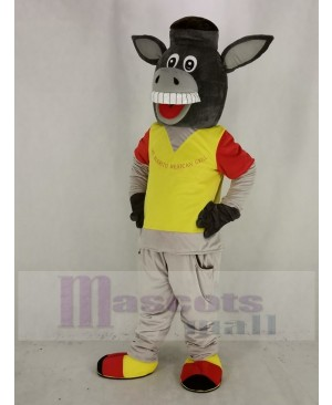 Funny Martin the Donkey Mascot Costume