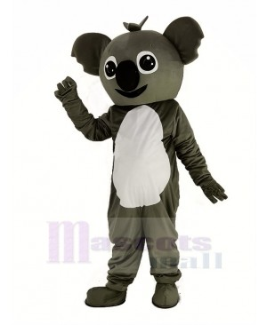 Small Gray Koala Mascot Costume Animal