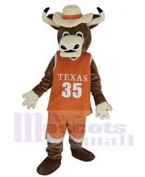 Longhorns Bull mascot costume