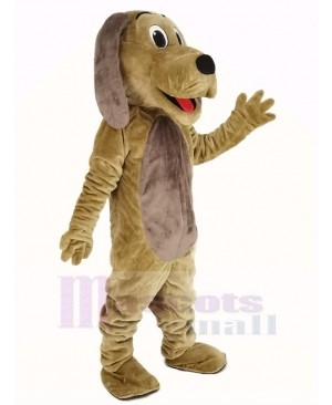 Dog with Brown Belly Mascot Costume