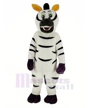 Funny Zebra Mascot Costume Animal
