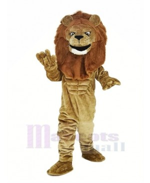 Power Lion Mascot Costume Animal