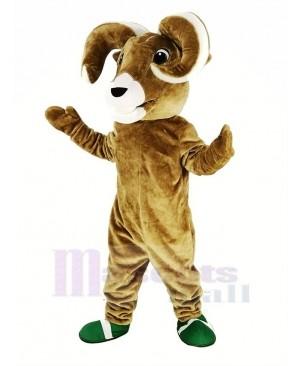 Sport Brown Ram Mascot Costume