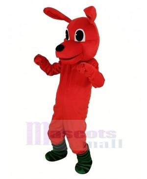 Red Kangaroo Mascot Costume Animal