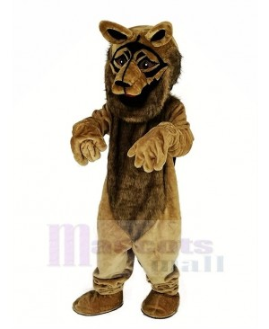 Brown German Shepherd Dog Mascot Costume