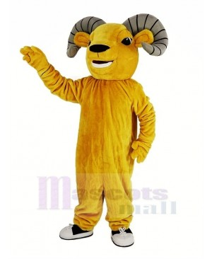 Light Brown Sport Ram Mascot Costume Animal