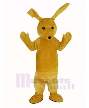 Yellow Rabbit Long Ears Mascot Costume