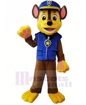 Paw Patrol Chase Mascot Costume Cartoon