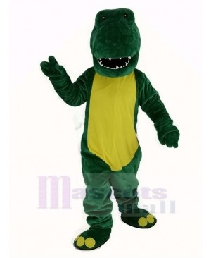 Green Lightweight Alligator Mascot Costume