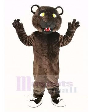 Dark Brown Panther Mascot Costume