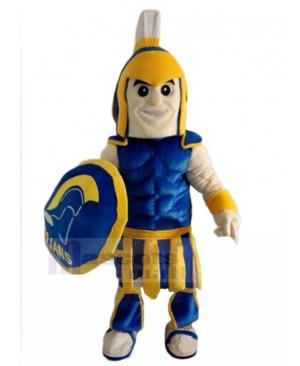 spartan knight mascot costume