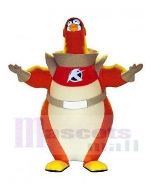 Astronaut Penguin mascot costume