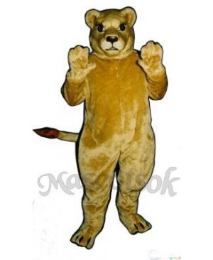 Cute Lioness Lion Mascot Costume