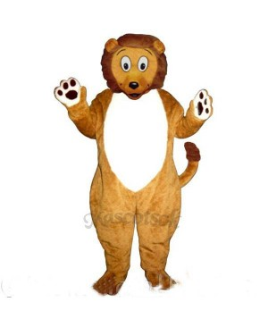 Cute Little Lion Mascot Costume