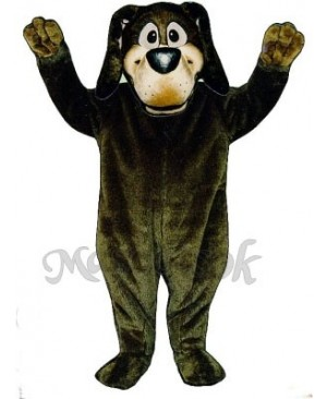 Cute Harold Hound Dog Mascot Costume