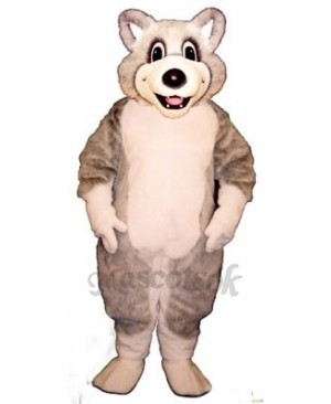Cute Baby Husky Dog Mascot Costume