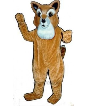 Cute Frankie Fox Mascot Costume