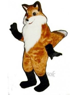 Cute Fancy Fox Mascot Costume