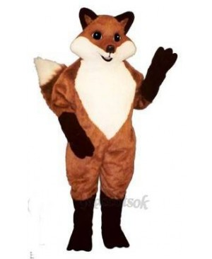 Cute English Fox Mascot Costume