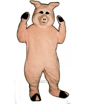 Cute Pierre Pig Mascot Costume