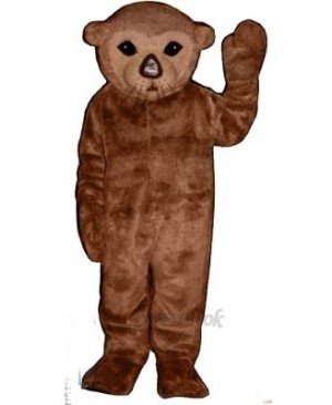 Cute Realistic Sea Otter Mascot Costume