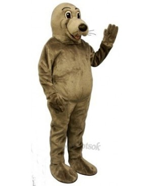 Cute Silly Seal Mascot Costume