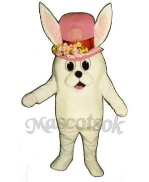 Easter Madcap Bunny Rabbit Girl Mascot Costume
