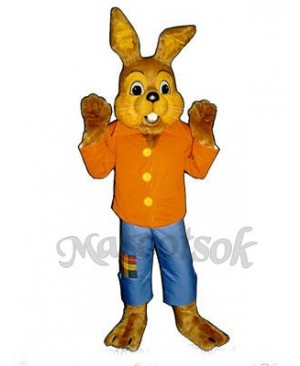 Cute Easter Bramble Bunny Rabbit Mascot Costume