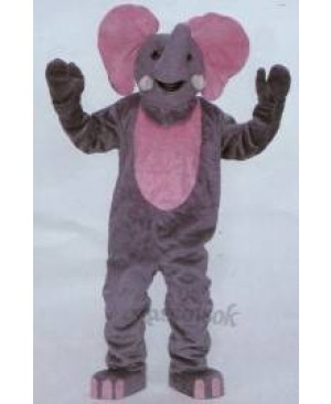Deluxe Elephant Mascot Costume